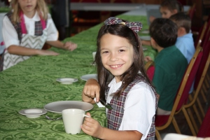 Grace T at Tea Time